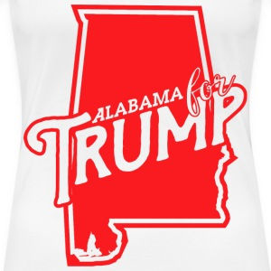 Alabama for Trump Women's T-Shirts - Women's Premium T-Shirt