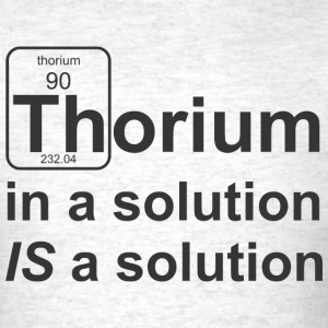 Thorium Solution - Men's T-Shirt