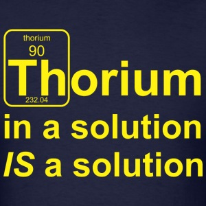 Thorium Solution b - Men's T-Shirt