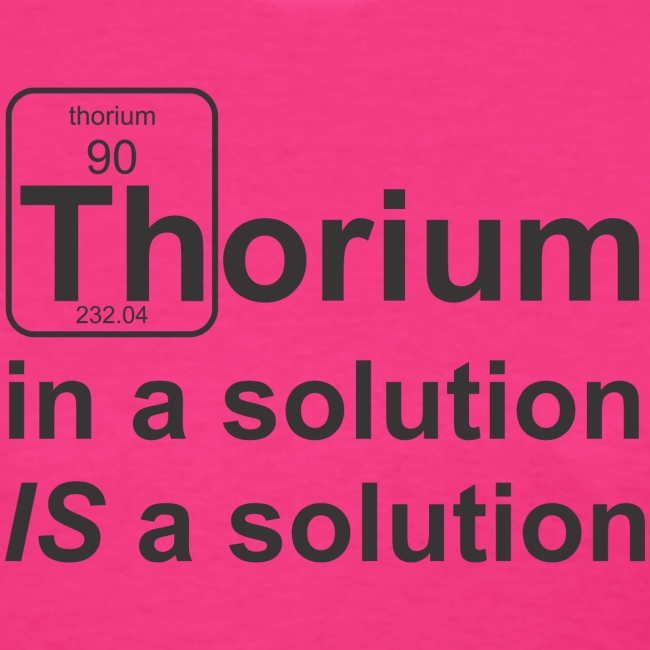 Thorium Solution f