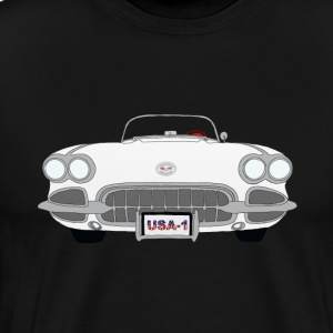 Vintage Corvette - Men's Premium T-Shirt