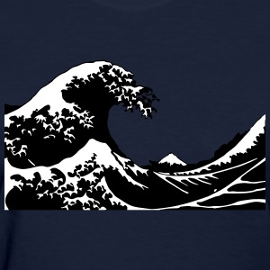 Wave Sea Tsnumai Flood Women's T-Shirts - Women's T-Shirt