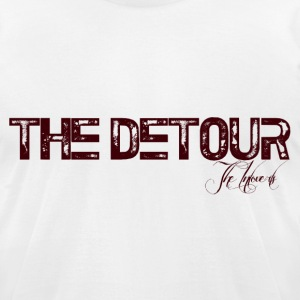 The Detour - Men's T-Shirt by American Apparel