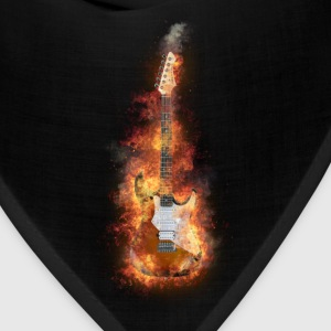 Flaming guitar 2 Caps - Bandana