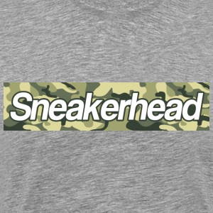 sneakerhead camo bar T-Shirts - Men's Premium T-Shirt