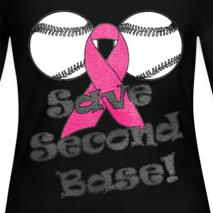 Save Second Base - Women's Long Sleeve Jersey T-Shirt