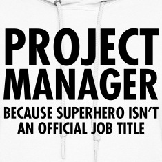Project Manager- Superhero Hoodies