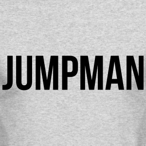 jumpman Long Sleeve Shirts - Men's Long Sleeve T-Shirt by Next Level