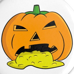 Puking Pumpkin - Small Buttons