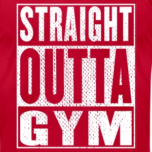 Straight Outta Gym Vintage - Men's T-Shirt by American Apparel