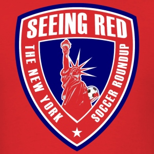 Seeing Red Logo Shirt (red) - Men's T-Shirt - Men's T-Shirt