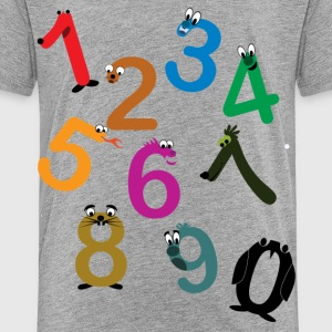 Fun Numbers - Toddler Premium T-Shirt