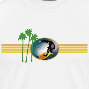Catch a Wave - Men's Premium T-Shirt