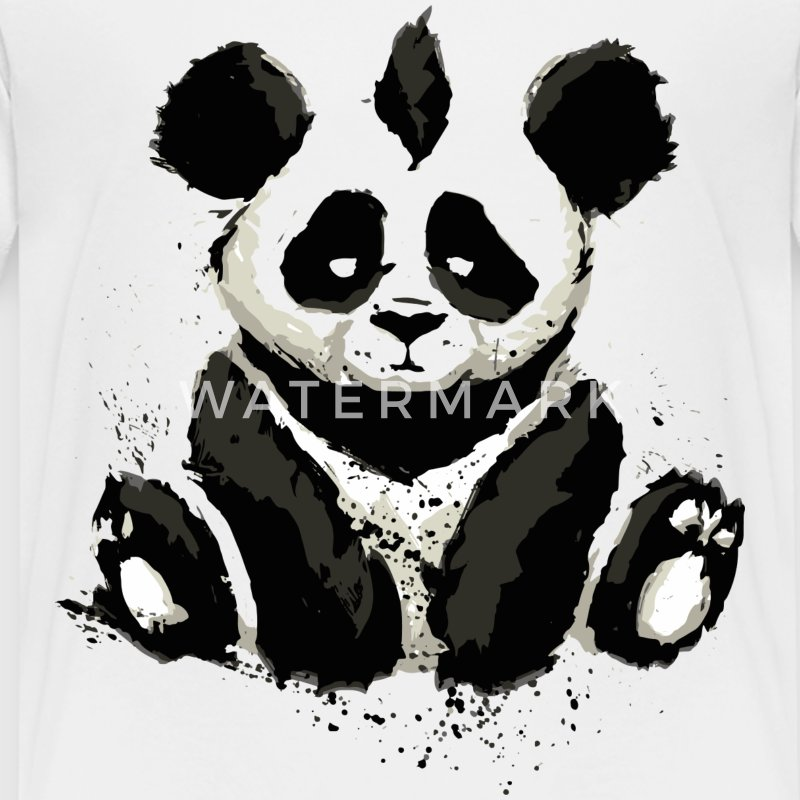 Cool Panda Bear Design - Kids' Premium T-Shirt