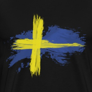 sweden flag awesome T-Shirts - Men's Premium T-Shirt
