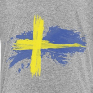 sweden flag awesome Kids' Shirts - Kids' Premium T-Shirt