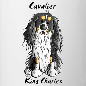 Cute Cavalier King Charles Spaniel Mugs & Drinkware - Contrast Coffee Mug