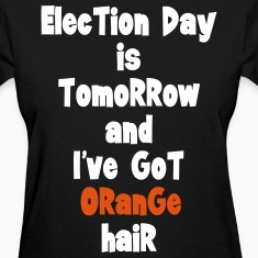 Orange-hair Election Day (w)