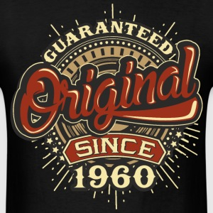 Birthday guaranteed since 1960 T-Shirts - Men's T-Shirt