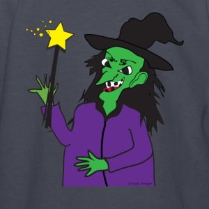 Wicked Witch with Wand - Kids' Long Sleeve T-Shirt
