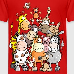 Giant Pile Of Animal Kids' Shirts - Kids' Premium T-Shirt