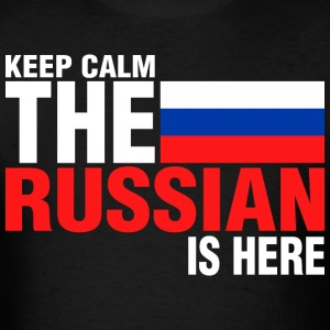 Keep Calm Fear The Russian Is Here - Men's T-Shirt
