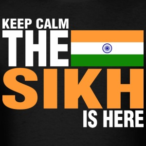 Keep Calm Fear The Sikh Is Here - Men's T-Shirt