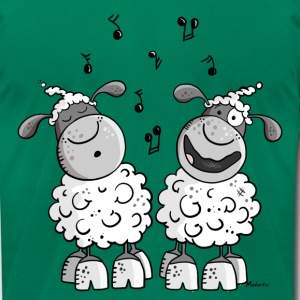 Musical Sheep T-Shirts - Men's T-Shirt by American Apparel