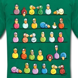 Bird Farm T-Shirts - Men's T-Shirt by American Apparel