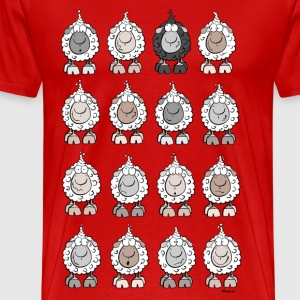 Wolly Sheep T-Shirts - Men's Premium T-Shirt