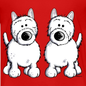 Two West Highland White Terrier Kids' Shirts - Kids' Premium T-Shirt