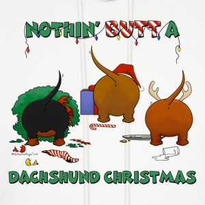 Nothin' Butt A Dachshund Christmas Hoodies - Men's Hoodie