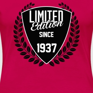 limited edition since 1937 Women's T-Shirts - Women's Premium T-Shirt