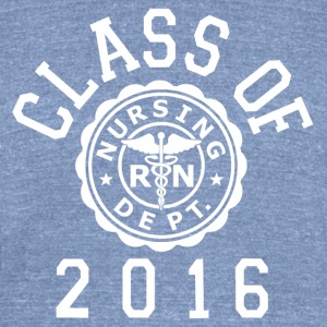 Class Of 2016 RN (Nursing T-Shirts - Unisex Tri-Blend T-Shirt by American Apparel
