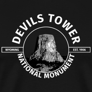 Devils Tower T-Shirt - Men's Premium T-Shirt