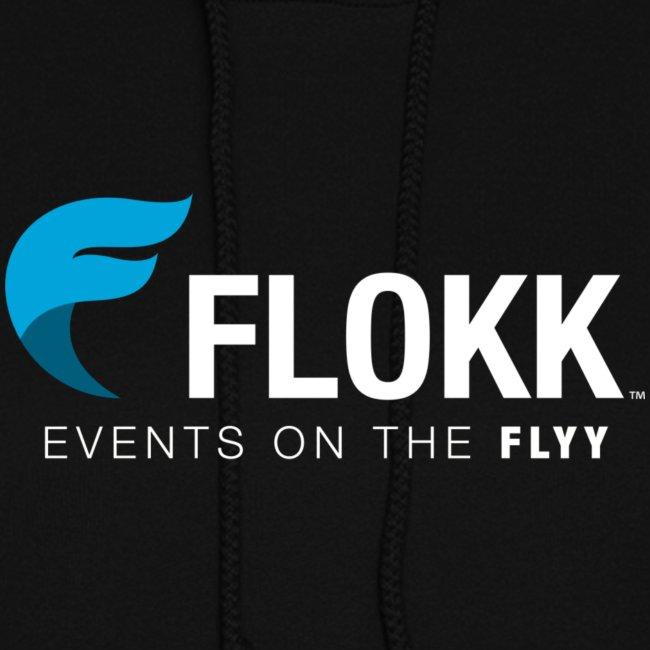 Ladies Flokk Logo Hoodie - Black