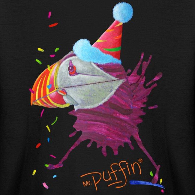MR. PUFFIN - front print - xs/l kids - multi colors