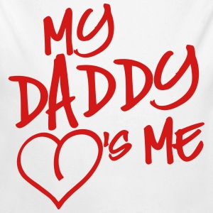 My Daddy loves me Baby Bodysuits - Long Sleeve Baby Bodysuit