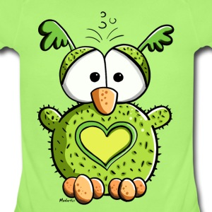 Owl In Love Baby Bodysuits - Baby Short Sleeve One Piece