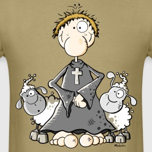 Pastor with sheep T-Shirts - Men's T-Shirt