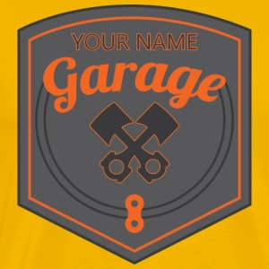 garage business - Men's Premium T-Shirt