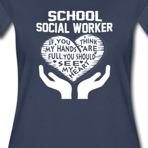 School Social Worker - Women's Premium T-Shirt