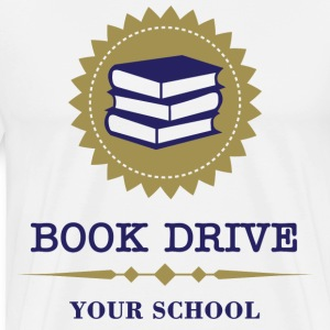 Book Drive - Men's Premium T-Shirt