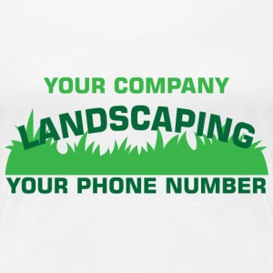 Landscaping Business - Women's Premium T-Shirt