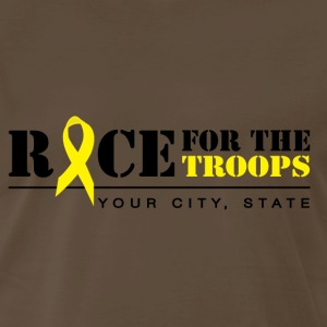 Race for the troops - Men's Premium T-Shirt