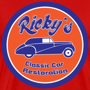 Ricky´s classic car restoration - Men's Premium T-Shirt