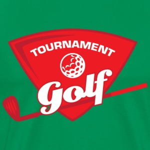 Tournament Golf - Men's Premium T-Shirt