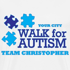 Walk for Autism - Men's Premium T-Shirt