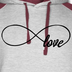 love infinity Hoodies