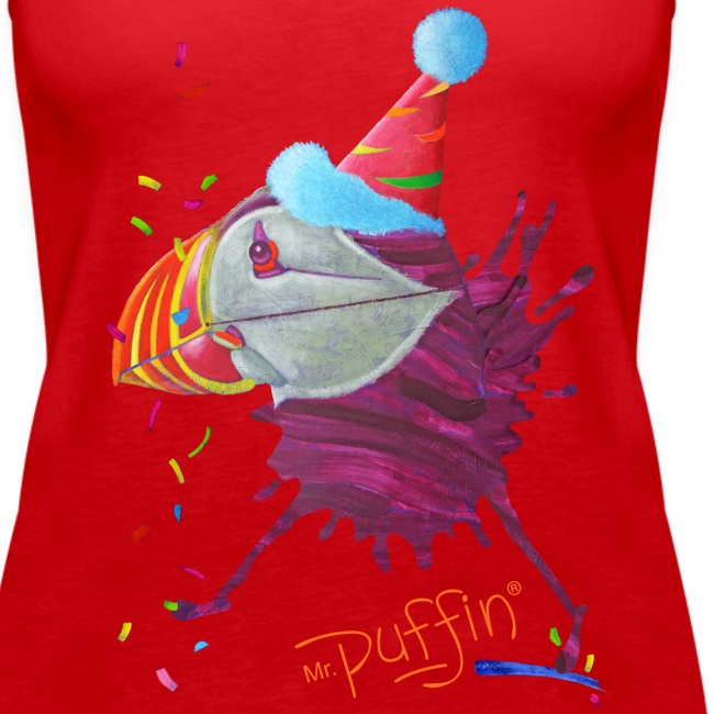 MR. PUFFIN - front print - s/3xl - multi colors